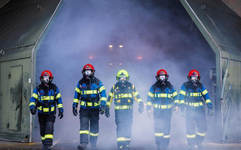 Brandwachten Europoort